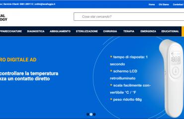 Progetto E-commerce Settore Biomedicale
