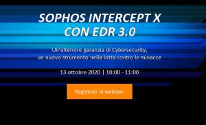 SOPHOS Intercept X con EDR 3.0